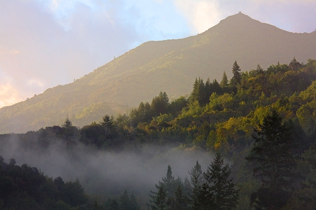 Relocating to Marin County - view of Mt. Tamalpais